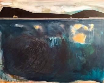 Contemporary wall art, original fine art print, giclee abstract print oil painting original, large abstract painting, canvas painting