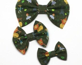Dorothy Bow - Dorothy Hair Bow - Wizard of Oz Bow - Fabric Hair Bow - Toddler Bow - Baby Girl Bow - Baby Headband
