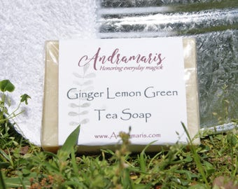 Ginger Lemon Green Tea Soap