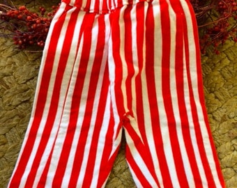 Striped pants for infant and toddler