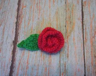 Red Rose Pin