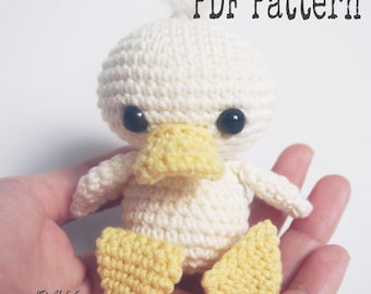 PDF Pattern altErmuligt's Duckling approximately 9 cm