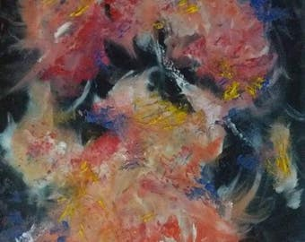 Synesthesia colourful painting