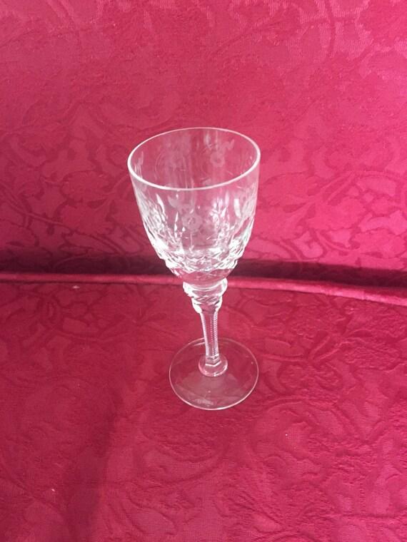 FREE SHIPPING-Rogaska Gallia-5 inch Liqueur-Brandy-Goblet