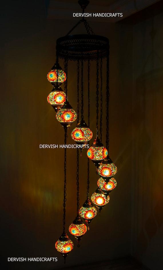 Turkish lamp hanging turkish lamp shade turkish lamp bazar te gusta este artculo aloadofball Choice Image