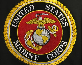 Embroidered Sweatshirts, Military Designs, Marines, Gifts