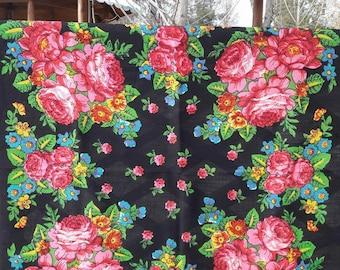 Free shipping!Russian vintage shawl.