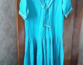 Laura ashley sailor dress