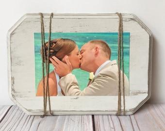 Wedding Decor - Wedding Frame - Wood Frame - Rustic Home Decor - Farmhouse Decor - Rustic Wedding - Rustic Wall Decor - Picture Frame