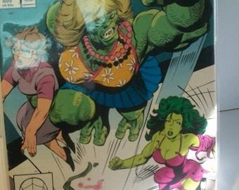 1990 The Sensational She-Hulk #21  She Hulk Vs The Blonde Phantom  VF-NM Unread Vintage  Marvel Comic Book