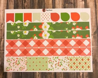 Strawberry Collection: Washi & flags