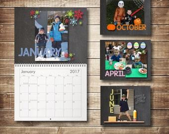 "Custom 2017 Calendar 8.5""x11"""