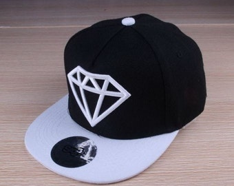 Kids/ infant Snapback Hat -  Black / Cap