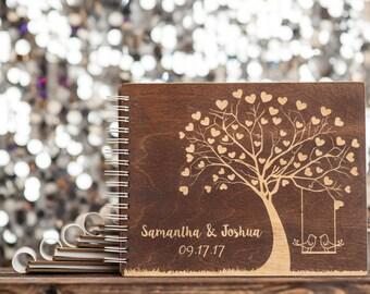 Swing Customized 8.5 x 11 Notebook, Album, Photo Booth Scrap Book, Wedding Album, Anniversary Gift