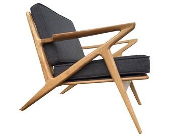 Stunning Solid Oak Z Chair