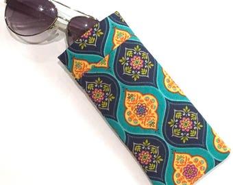 Sunglass Case - Sunglass Holder - Padded Eyeglass Case - Fabric Sunglasses Holder
