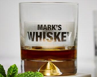 Personalisiertes Whiskeyglas