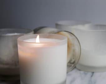 EDEN // black fig & oak leaf scented soy candle