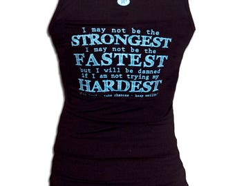 Trying My Hardest Women's Jersey Tank