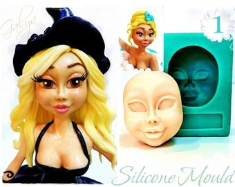 Face Girl  1 /  Silicone moulds