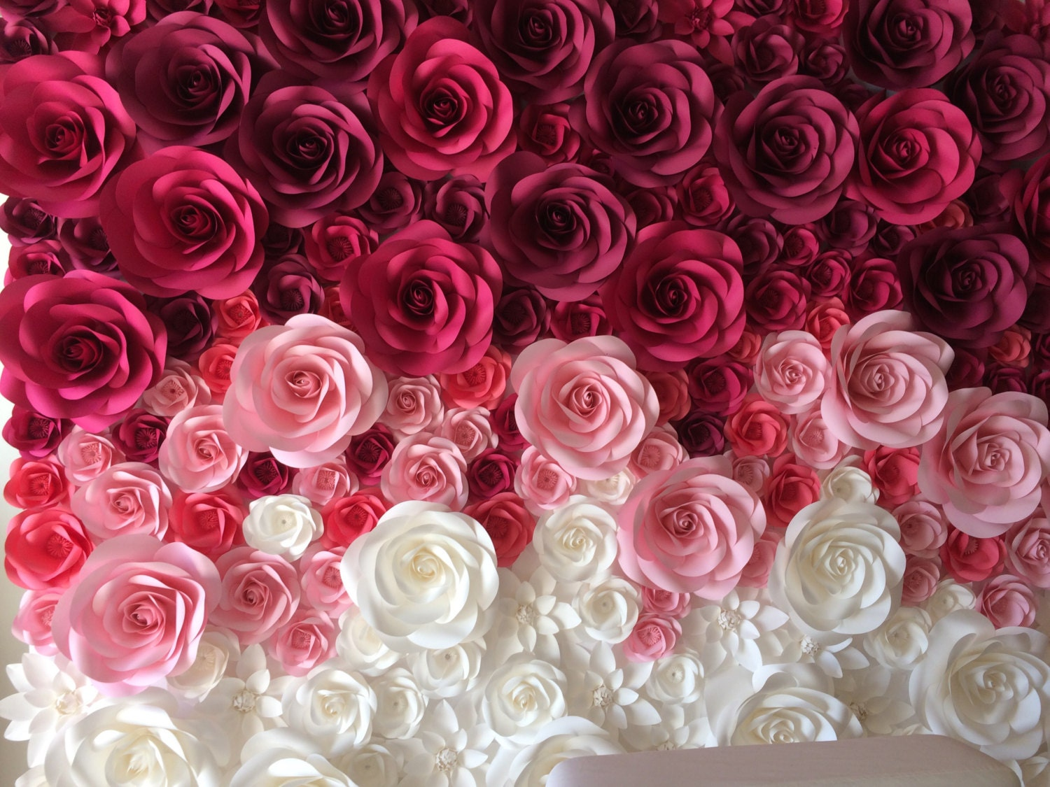 large paper flowers paper flower backdrop giant paper