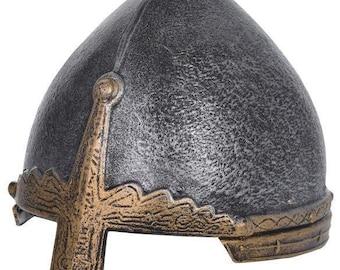 Viking Helmet. Norman Knight Helmet for Kids. Medieval Knight Costume Accessory