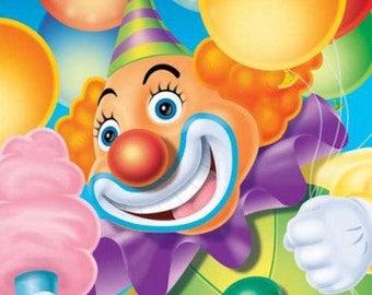 Ringling Brothers Circus ''Big Top'' Beverage Paper Napkins 16ct