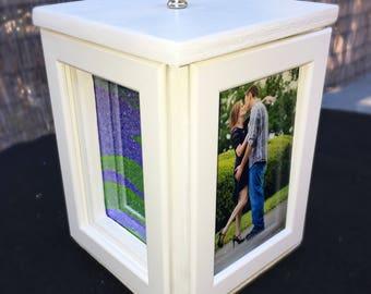 Rotating Wedding Sand Ceremony Photo Box