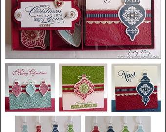 Craft Tutorial - Christmas Box Set of Tags & Cards Tutorial