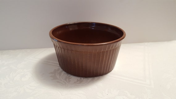Stangl Gourmet Ware 7'' Round Souffle #5269