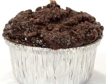 Double Chocolate Fudge Muffin Candles 3-pack