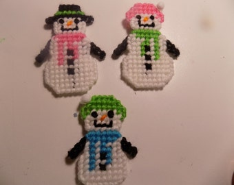 Snow People Magnets