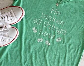 Christian Shirt - Bible Verses Shirt - Faith Tee - Jesus T Shirt - Scripture Shirts - Jesus  Shirt - Spring Shirt - Ladies Faith Shirt