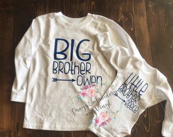 Big brother/little brother shirts or onesie