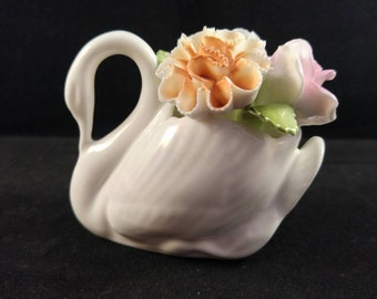 Royal stratford bone china swan