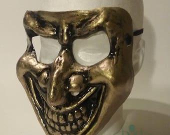 Gold Joker Mask