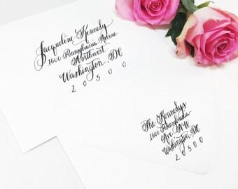 Wedding Calligraphy Envelope Addressing/Save the date Calligraphy/Envelope Addressing/ Hand Lettering/ Custom Wedding Address