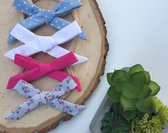 Skinny Hand Tied Bows
