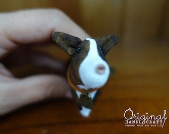 Corgi keyrings, dog keyring, dog collar,  tiny dog collar, 100% handmade, key chains, keyrings, lovely gift, special gift, adorable