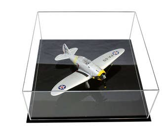 Large Model Plane Display Case with UV Protection (A030A)