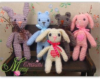 Blythe doll mini dolls - Minis peluches pour poupée Blythe, Blythe, Licca, Ruruko, échelle 1/6 de Pullip