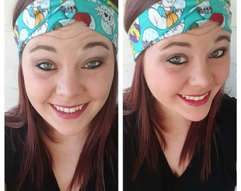 Scooby Doo Fabric Headband