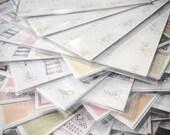 Surprise Bundle - Mixed Grab Bags - Miscuts- Planner stickers - Erin Condren - Plum Paper - Kikki K - Paperchase - Filofax