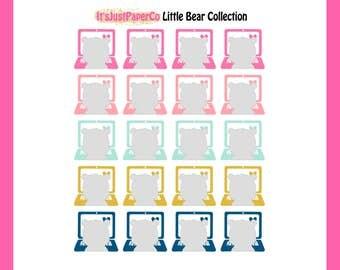 Little Bear - Computer Work Stickers