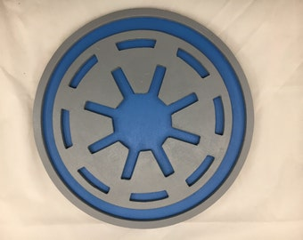 Galactic Republic Sign - 12inch round - 3D