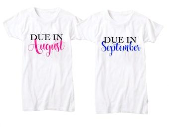 Due in ____ Pregnancy Shirt