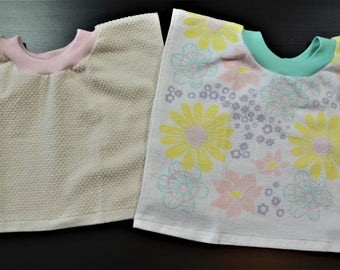 Baby Bibs, Baby/Toddler Tea Towel Bibs, Toddler Bibs