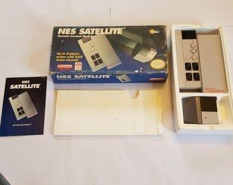 Original Nintendo NES Satellite Wireless Controller Accessory New & Complete (Open Box)