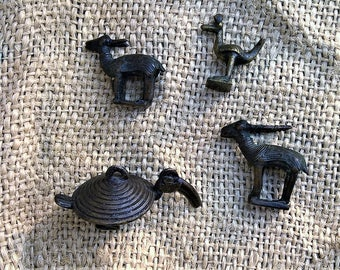 African Animal Bronzes