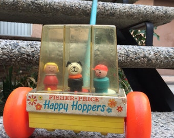 Vintage Fisher price Happy Hoppers